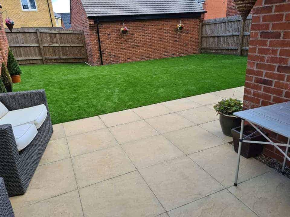 Splendour back garden
