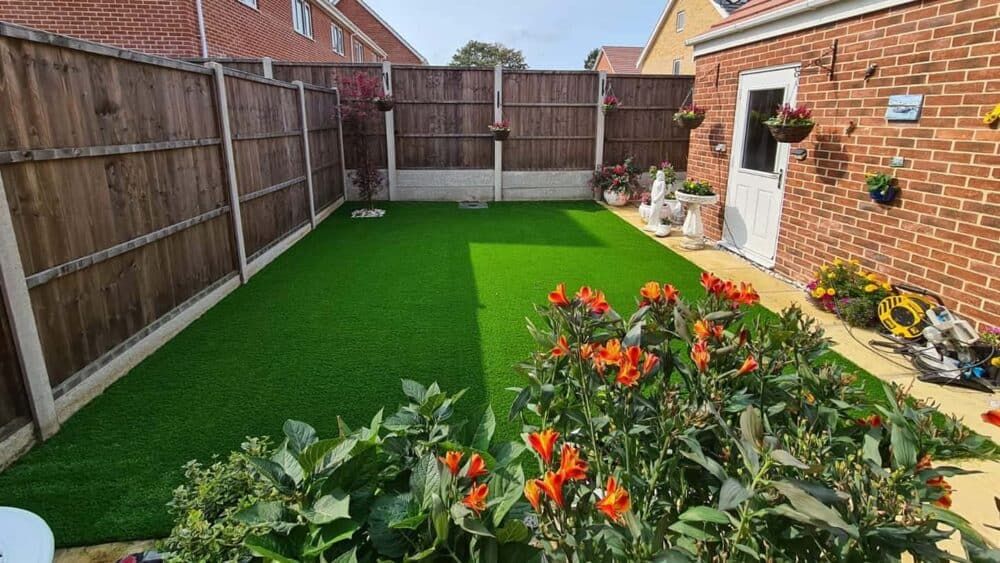 Prestige back garden