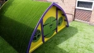 Artificial Grass on a Roof