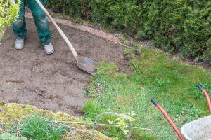 Removing Grass